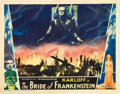 "Movie Posters:Horror, The Bride of Frankenstein (Universal, 1935). Lobby Card (11"" X 14"").. ..."
