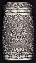 Silver Smalls:Match Safes, A TIFFANY SILVER AND SILVER GILT MATCH SAFE . Tiffany & Co.,New York, New York, 1886. Marks: TIFFANY & CO. STERLING,880...