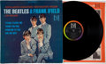 Music Memorabilia:Recordings, The Beatles and Frank Ifield On Stage Rare Stereo LP(Vee-Jay 1085, 1964)....