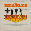 Music Memorabilia:Recordings, Beatles Help! Sealed Mono LP (Capitol 2386, 1965)....