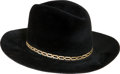 Music Memorabilia:Memorabilia, Elvis Presley Hat, Given as a Gift to Jack Lord....
