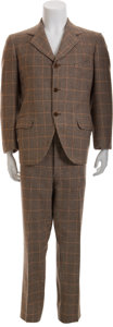 Movie/TV Memorabilia:Costumes, W.C. Fields' The Big Broadcast of 1938 Costume Suit....(Total: 2 Items)