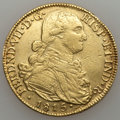 Colombia, Colombia: Ferdinand VII gold 8 Escudos 1815-JF,...