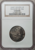 Bolivia, Bolivia: 2 Reales Cobs from the Wreck of the Piedmont,... (Total: 15 coins)
