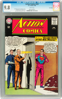 Action Comics #323 Twin Cities pedigree (DC, 1965) CGC NM/MT 9.8 White pages