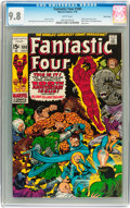 Bronze Age (1970-1979):Superhero, Fantastic Four #100 Twin Cities pedigree (Marvel, 1970) CGC NM/MT9.8 White pages....