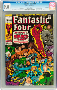 Fantastic Four #100 Twin Cities pedigree (Marvel, 1970) CGC NM/MT 9.8 White pages