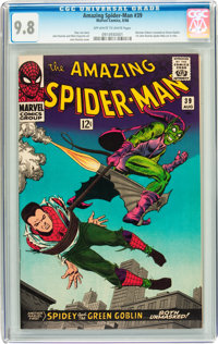 The Amazing Spider-Man #39 (Marvel, 1966) CGC NM/MT 9.8 Off-white to white pages