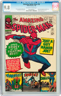 Silver Age (1956-1969):Superhero, The Amazing Spider-Man #38 (Marvel, 1966) CGC NM/MT 9.8 Off-white to white pages....