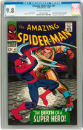 Silver Age (1956-1969):Superhero, The Amazing Spider-Man #42 (Marvel, 1966) CGC NM/MT 9.8 Off-white to white pages....