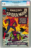 Silver Age (1956-1969):Superhero, The Amazing Spider-Man #40 (Marvel, 1966) CGC NM/MT 9.8 Off-whiteto white pages....