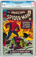 Silver Age (1956-1969):Superhero, The Amazing Spider-Man #40 Twin Cities pedigree (Marvel, 1966) CGCNM+ 9.6 White pages....