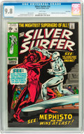 Bronze Age (1970-1979):Superhero, The Silver Surfer #16 Twin Cities pedigree (Marvel, 1970) CGC NM/MT9.8 White pages....