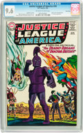 Silver Age (1956-1969):Superhero, Justice League of America #34 Twin Cities pedigree (DC, 1965) CGCNM+ 9.6 Off-white to white pages....