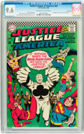 Silver Age (1956-1969):Superhero, Justice League of America #43 Twin Cities pedigree (DC, 1966) CGCNM+ 9.6 Off-white to white pages....