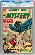 Silver Age (1956-1969):Science Fiction, Journey Into Mystery #101 (Marvel, 1964) CGC VF/NM 9.0 Off-white towhite pages....