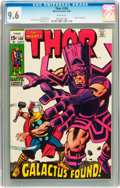Silver Age (1956-1969):Superhero, Thor #168 (Marvel, 1969) CGC NM+ 9.6 White pages....
