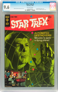 Star Trek #3 (Gold Key, 1968) CGC NM+ 9.6 Off-white pages