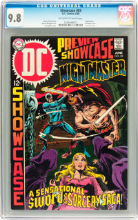 Showcase #83 Nightmaster (DC, 1969) CGC NM/MT 9.8 Off-white to white pages