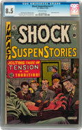 Golden Age (1938-1955):Horror, Shock SuspenStories #1 (EC, 1952) CGC VF+ 8.5 Off-white pages....