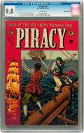 Golden Age (1938-1955):Adventure, Piracy #4 Gaines File pedigree 7/12 (EC, 1955) CGC NM/MT 9.8 Whitepages....