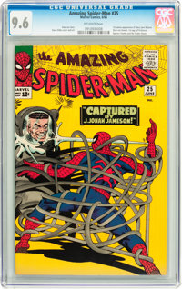 The Amazing Spider-Man #25 (Marvel, 1965) CGC NM+ 9.6 Off-white pages