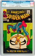 Silver Age (1956-1969):Superhero, The Amazing Spider-Man #35 (Marvel, 1966) CGC NM+ 9.6 Off-whitepages....