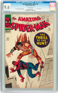 Silver Age (1956-1969):Superhero, The Amazing Spider-Man #34 (Marvel, 1966) CGC NM+ 9.6 Off-white pages....