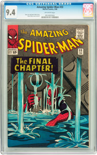 The Amazing Spider-Man #33 (Marvel, 1966) CGC NM 9.4 Off-white pages