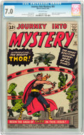 Silver Age (1956-1969):Superhero, Journey Into Mystery #83 (Marvel, 1962) CGC FN/VF 7.0 Off-whitepages....
