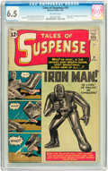 Silver Age (1956-1969):Superhero, Tales of Suspense #39 (Marvel, 1963) CGC FN+ 6.5 Off-white pages....