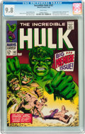 Silver Age (1956-1969):Superhero, The Incredible Hulk #102 (Marvel, 1968) CGC NM/MT 9.8 Whitepages....