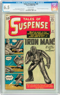 Silver Age (1956-1969):Superhero, Tales of Suspense #39 (Marvel, 1963) CGC FN+ 6.5 Off-whitepages....