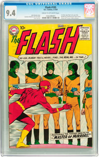 The Flash #105 (DC, 1959) CGC NM 9.4 Cream to off-white pages