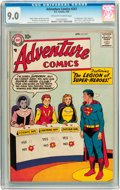 Silver Age (1956-1969):Superhero, Adventure Comics #247 (DC, 1958) CGC VF/NM 9.0 Off-white to white pages....