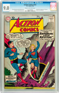 Silver Age (1956-1969):Superhero, Action Comics #252 (DC, 1959) CGC VF/NM 9.0 Cream to off-whitepages....