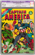 Golden Age (1938-1955):Superhero, Captain America Comics #13 Chicago pedigree (Timely, 1942) CGC Apparent NM+ 9.6 Slight (P) Off-white to white pages....