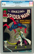Silver Age (1956-1969):Superhero, The Amazing Spider-Man #44 (Marvel, 1967) CGC NM+ 9.6 Off-white towhite pages....