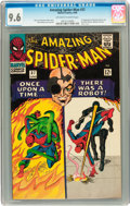 Silver Age (1956-1969):Superhero, The Amazing Spider-Man #37 (Marvel, 1966) CGC NM+ 9.6 Off-white towhite pages....
