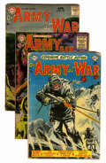 Golden Age (1938-1955):War, Our Army at War Group (DC, 1953-58) Condition: Average GD....(Total: 12 Comic Books)