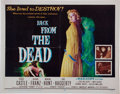 Memorabilia:Poster, Back From the Dead Movie Poster (20th Century Fox, 1957)....