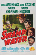 Memorabilia:Poster, Swamp Water Movie Poster (20th Century Fox, 1947)....