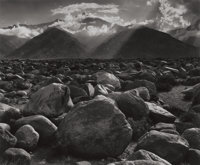 ANSEL ADAMS (American, 1902-1984) Mount Williamson, Sierra Nevada from Manzanar, 1944 Gelatin silver