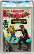 Silver Age (1956-1969):Superhero, The Amazing Spider-Man #26 (Marvel, 1965) CGC NM+ 9.6 Off-whitepages....
