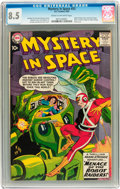 Silver Age (1956-1969):Superhero, Mystery in Space #53 (DC, 1959) CGC VF+ 8.5 Cream to off-whitepages....