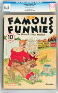 Platinum Age (1897-1937):Miscellaneous, Famous Funnies #28 (Eastern Color, 1936) CGC FN+ 6.5 Off-white towhite pages....