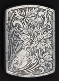 Silver Smalls:Match Safes, A BLACKINTON SILVER AND SILVER GILT MATCH SAFE . R. Blackinton& Co., North Attleboro, Massachusetts, circa 1880. Marks:(sw...