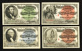 "Miscellaneous:Other, World's Columbian Exposition Tickets 1893 Indian; Columbus;Washington, and Lincoln ""A"" Examples. ... (Total: 4 items)"