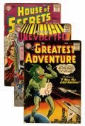 Silver Age (1956-1969):Horror, DC Silver Age Horror/Mystery Group (DC, 1960s) Condition: AverageVG.... (Total: 11 Comic Books)