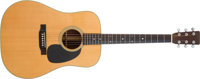 Elvis Presley's Stage-Used 1972 Martin D-28 Acoustic Guitar